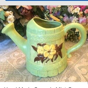 Hand Made Ceramic Watering Can Planter